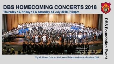 The DBS Homecoming Concerts 2018